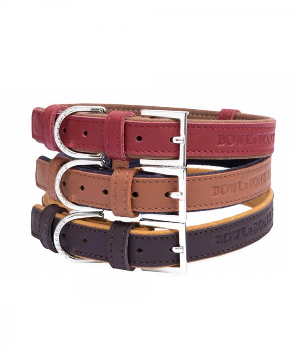 Hundehalsbånd i læder