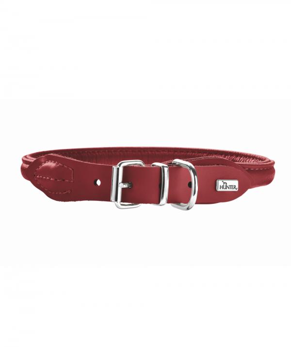 Hunter R&S Elg halsbånd, rød