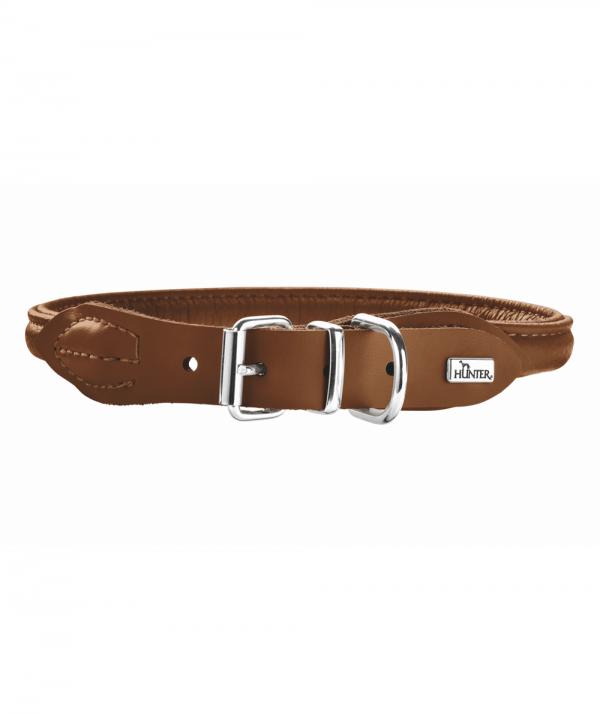 Hunter R&S Elg halsbånd, brun