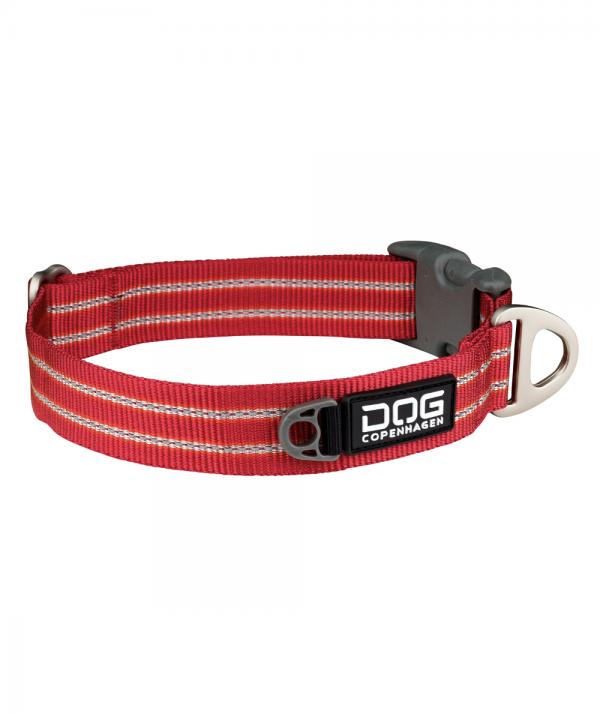 DOG Copenhagen Urban Style halsbånd rød